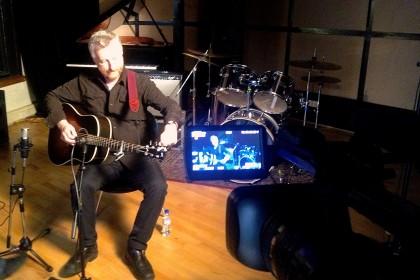Billy Bragg at Resident Studios