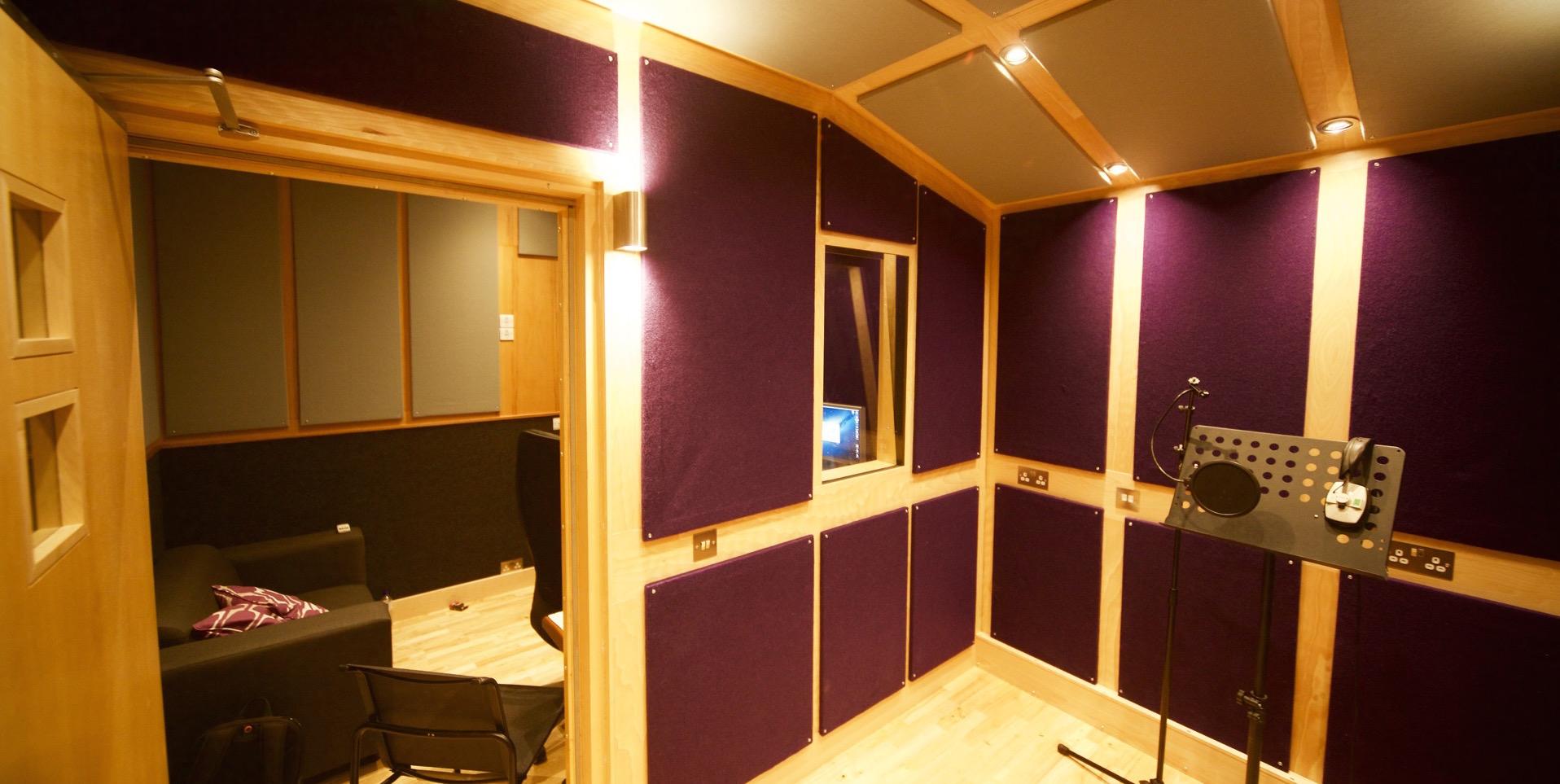 Studio C booth